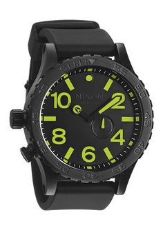 The 51-30 PU. With superior functionality - like a custom 3 hand Swizz quartz movement and tide subdial - its wearer is never without the necessary earthly information. But with custom stainless and silicone - clad durability and unrivaled handsome details, it%u2019s a timepiece that%u2019s rife with worldly good looks.