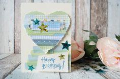 Creative Pages by amaryllis775: DIY Geburtstagskarte / DP Kartenchallenge - Streif...