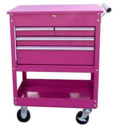 31 Inch Four Drawer Utility Cart
