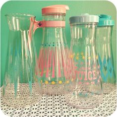 Super cute vintage Carafes