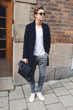 Rock & Sneakers   Martin Hansson  #fashion #streetstyle #swedish #blogger #MartinHansson #AcneStudios #AlexanderWang #Morris #Coloquy
