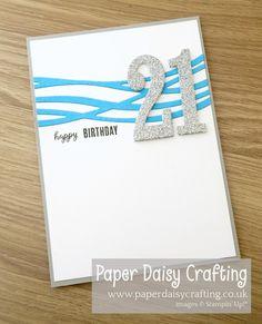 Paper Daisy Crafting: Quick and easy birthday card Paper Crafts Origami, Origami Easy, Birthday Cards For Boys, Boy Birthday, Milestone Birthdays, First Birthdays, Paper Daisy, Birthday Sentiments, Blue Butterfly