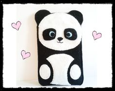 bear phone case | Panda bear Phone Case Kawaii Pandabaer Handytasche by Avantalia