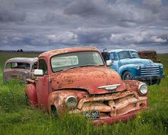 Cool old pickups 1954