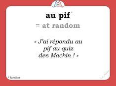 French Nouns, French Slang, French Grammar, French Language Lessons, French Language Learning, French Lessons, How To Speak French, Learn French, Learn English