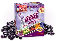 Click the pic to get a 24ct box of Acai Natural Energy Boost for $24.95