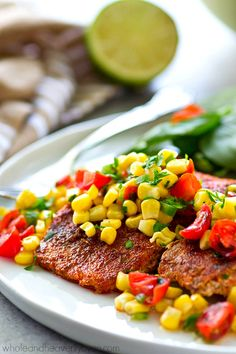 Tender grilled salmo