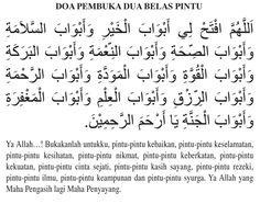 Doa Pembuka 12 Pintu Rezeki Pray Quotes, Quran Quotes Inspirational, Quran Quotes Love, Islamic Love Quotes, Muslim Quotes, Religious Quotes, Prayer Verses, Quran Verses, Khalid