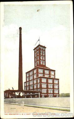 The Remington U. M. C. Shot Tower Bridgeport Connecticut