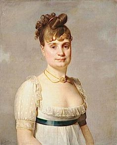 1804 Madame Louis-Charles Maigret, née Marie-Marguerite Quesnel, by Martin Drolling
