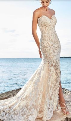 Featured Dress: Eddy K; Wedding dress idea.
