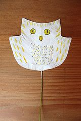 Hazel Terry   Barn Owl Leaf