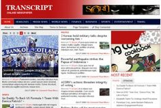 Transcript is a multi-purpose and stylish news / magazine theme which includes an eye-catching slider and a built-in advertisement management module.    With Transcript you will realize newspaper blogging can also be lots of fun. It incorporates some of the best features tailor made for newspaper sites, plus a user friendly and appealing design, with different color combinations.