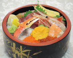 青森国際ホテル 青森空港2階「和食処 ひば」ちらし寿司