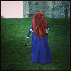 Merida. So much work but I love that wig! #meridacosplay #merida #disneycosplay #brave #wigmaking #cosplay #cosplaywig #disney