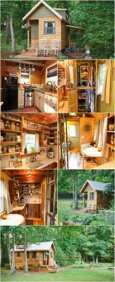 This Couple Built a Tiny Home and Found Freedom! When Wind River Tiny Homes set out to design and build their first tiny home, they hit it out of the park with this sweet little bungalow! It's absolutely charming in every detail so it's not hard to see why they're still building it to this day!