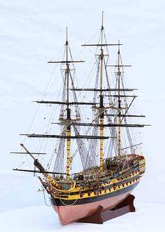 Sailing ship model HMS Vanguard, a ship of the line of 1787 Model Sailing Ships, Old Sailing Ships, Hms Vanguard, Battle Of The Nile, Scale Model Ships, Hms Victory, Ship Of The Line, Model Hobbies, Wooden Ship