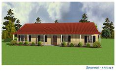 Savannah 1710 sq ft