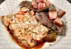 Lasanha de berinjela e bife com bacon para janta! . Ensinamos a lasanha em http://ift.tt/2lQuVl5 . . #senhortanquinho #paleo #paleobrasil #primal #lowcarb #lchf #semgluten #semlactose #cetogenica #keto #atkins #dieta #emagrecer #vidalowcarb #paleobr #comidadeverdade #saude #fit #fitness #estilodevida #lowcarbdieta #menoscarboidratos #baixocarbo #dietalchf #lchbrasil #dietalowcarb