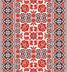Free EPS file Ukrainian styles embroidery patterns vector set 05 ...