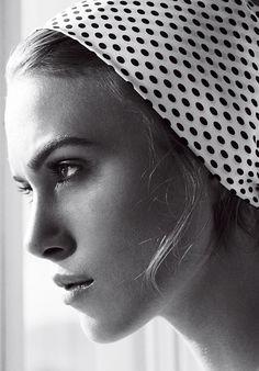 Keira Knightley photographed by Mario Testino, Vogue, May 2006.