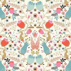 Sew Scrumptious Fabrics - Studio e - Beautiful Garden Girl - Flowers, £3.20 (http://www.sewscrumptious.co.uk/studio-e-beautiful-garden-girl-flowers/)