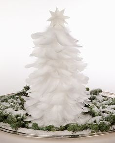 The Feather Christmas Tree tutorial