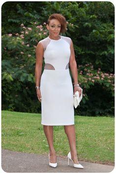 Review: Burda 6858 | White on white on white! | Erica B.'s - D.I.Y. Style!