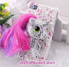 iPhone 5c case my little pony sparkly iPhone 5s by DIYiPhoneCases