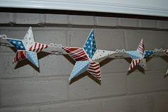 Stars on fence