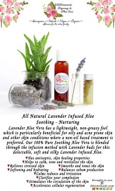 This lightweight and refreshing Lavender infused Aloe Vera captures the miraculous properties of Aloe and Organic English Lavender. I infuse Pure Aloe with Aloe Vera For Skin, Aloe Vera Skin Care, Aloe Vera Gel, Natural Beauty Tips, Natural Skin Care, Skin Care Treatments, Acne Prone Skin, Diy Skin Care, Herbalism