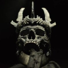 Into The Fire Jewelry Skull ring King of the Dead half jaw