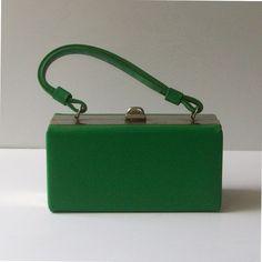 Vintage Green Brick Handbag by nickandnessies, via Flickr