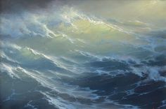 Sun and sea by Russian artist George Dmitriev
