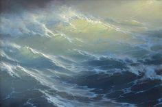 Sun and sea by Russian artist George Dmitriev