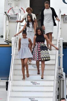 Sasha & Malia Obama Are the Coolest American Girls in Italy