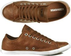 Converse Chucks All Star Slim OX leather brown Gr 40