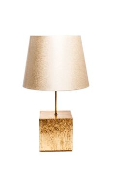 Ginger & Jagger | Tree Table Lamp | The raw texture of solid wood contrasting with the soft fabric of the abjure makes us travel to clean starry night atmosphere.