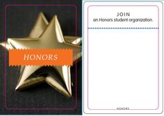 Honors: Join an honors organization