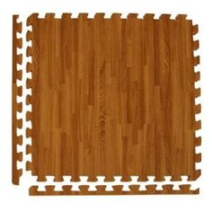 Greatmats Wood Grain Reversible Dark Wood/Tan 24 in. x 24 in. x 0.5 in. Foam Interlocking Floor Tile (Case of 25) WoodGrainRevDW25 at The Home Depot - Mobile