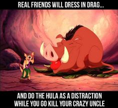 What makes a real friend…