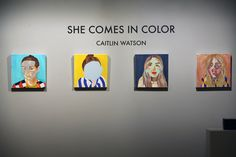 For Sophie...this is the artist I was telling you about with the interactive exhibition x (Caitlin Watson)