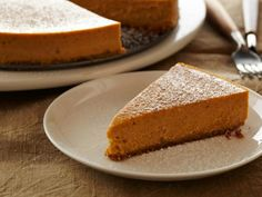 Healthy Holiday Desserts: Pumpkin Cheesecake