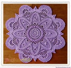 Several doily patterns, but this one is not there. .