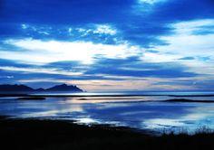 BEAUTIFUL Icelandic landscape at dawn