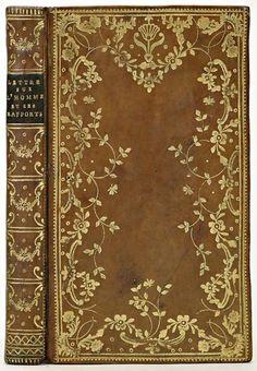 Thomas van Os, calfskin bookbinding, 1778-80 (via).