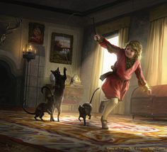Tommen Baratheon playing with his kitties for Game of Thrones TCG , I hope you…