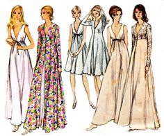 1970s Vintage Sewing pattern Babydoll by allthepreciousthings, $12.00