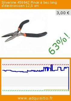 Silverline 456942 Pince à bec long d'électronicien 12,5 cm (Outils et accessoires). Réduction de 63%! Prix actuel 3,00 €, l'ancien prix était de 8,14 €. http://www.adquisitio.fr/silverline/456942-pince-bec-long