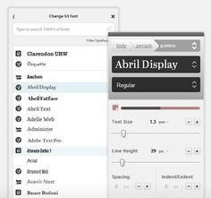 A new (and still in beta) web-font tool called Typecast makes designing type for the web a whole lot easier.